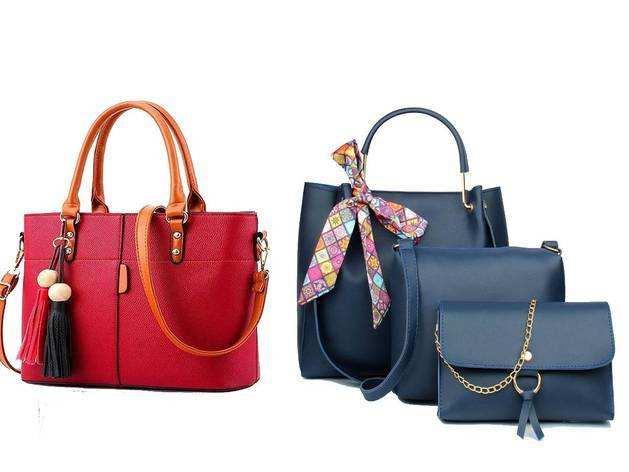 स्टाइलिश Women Handbags पर Amazon दे रहा है 70% से ऊपर तक की छूट