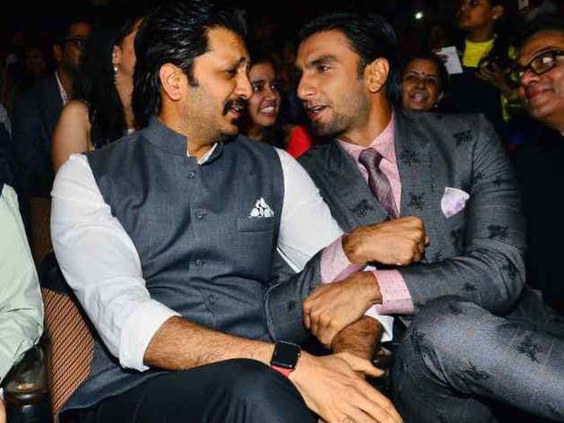 Ritesh Deshmukh and Ranveer Singh