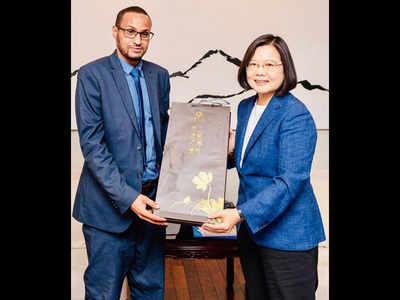 ताइवान में सोमालीलैंड के प्रतिनिधि मोहम्मद उमर हाजी