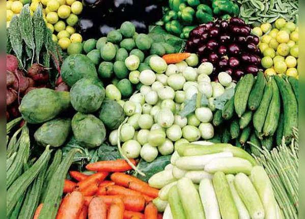 सब्जियां और दूध के उत्पाद