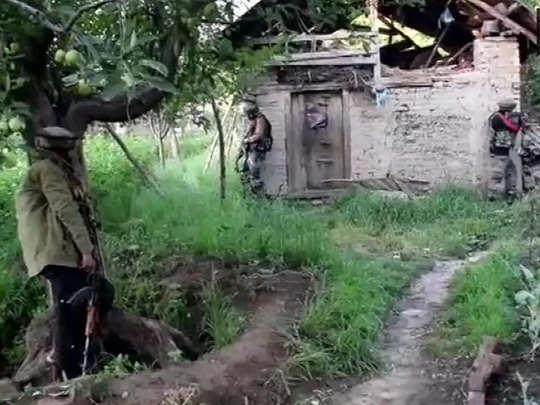 गूसू गांव में एनकाउंटर