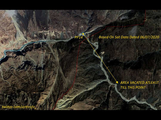 satellite images from galwan valley in ladakh show china pla retracted at lac after talks with india
