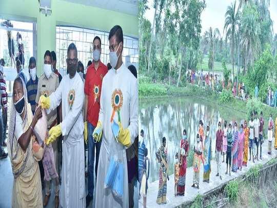 st. xavier's adopts an amphan affected village near kakdwip