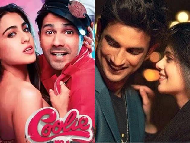 Varun Dhawan and Sara Ali Coolie No 1