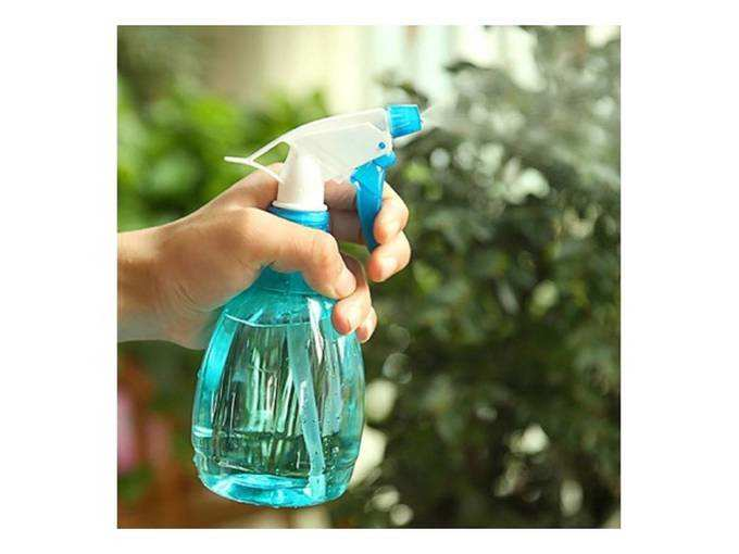APSAMBR®-Empty Plastic Random Color Refillable Fine Mist Spray BottleS (500 ml)