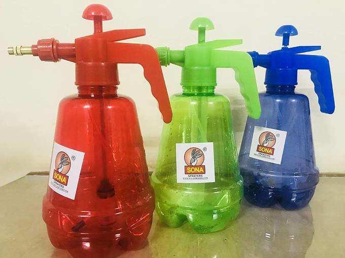 Field Star 1.5 Ltr Pressure Sprayer ( Red ,Green, Yellow) Spray Bottles