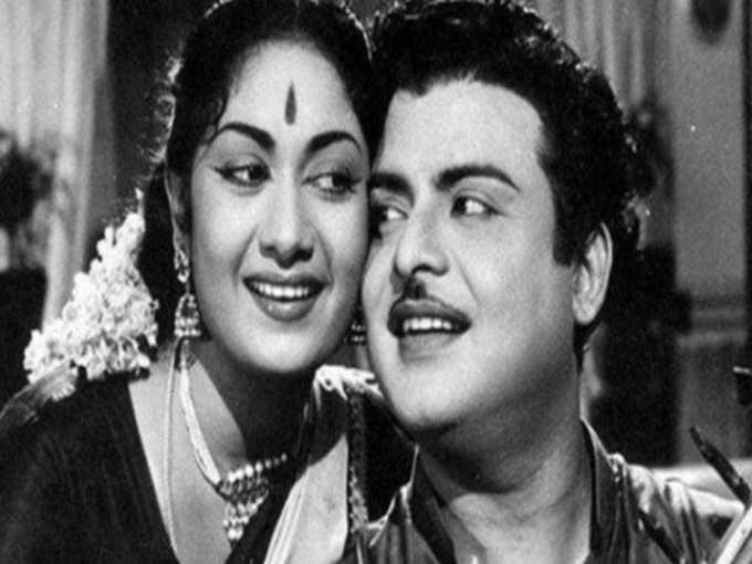 ஜெமினி கணேசன் - சாவித்திரி