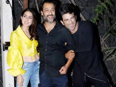 wrap up party of sushant film Kedarnath
