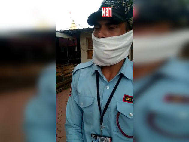 विकास दुबे की उज्जैन से गिरफ्तारीः मंदिर के गार्ड से सुनिए अंदर क्या हुआ