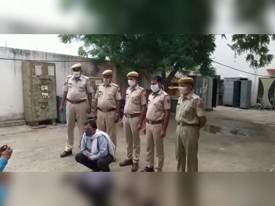 आत्महत्या के लिए उकसाने के मामले में फरार इनामी दंपति को पुलिस ने दबोचा
