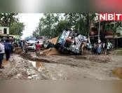 वीडियो: जब बिहार में सड़क पर धूल चाटने लगा ट्रक, पूरा शहर हो गया जाम