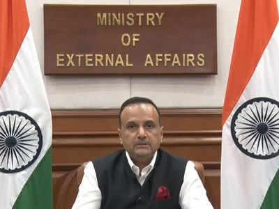 विदेश मंत्रालय के प्रवक्ता अनुराग श्रीवास्तव।