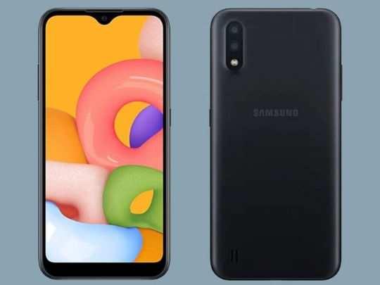 Samsung Galaxy A01 Core स्मार्टफोन में होगी रिमूवेबल बैटरी