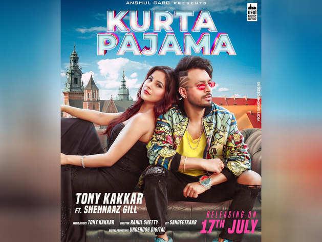 शहनाज और टोनी का म्यूजिक वीडियो 'कुर्ता पैजामा'