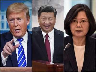 ट्रंप, जिनपिंग और ताइवानी राष्ट्रपति