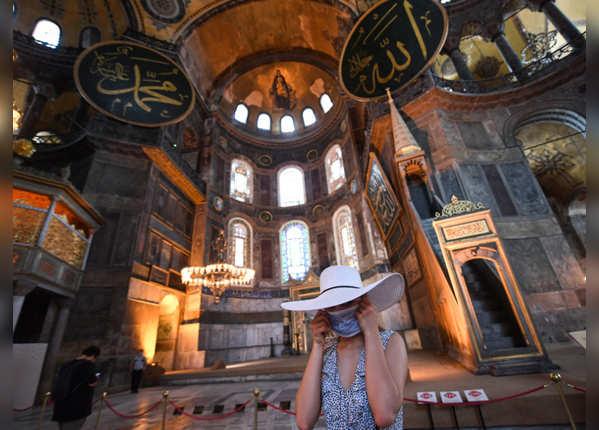 चर्च से मस्जिद, मस्जिद से म्यूजियम में तब्दील