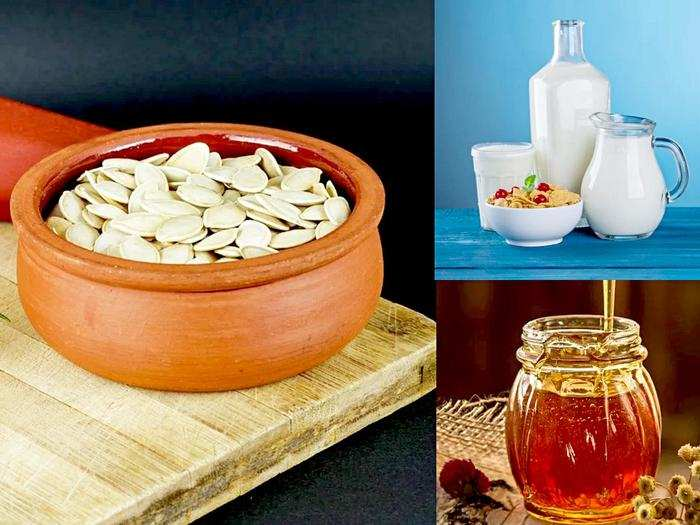5 health benefits of pumpkin seed with honey and milk