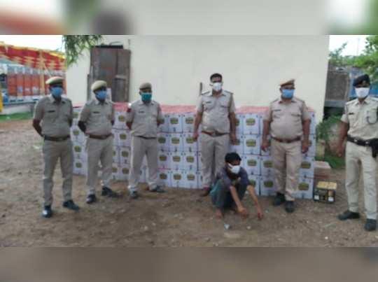 दवा सप्लाई की आड़ में दारू की तस्करी, 50 लाख रुपये कीमत के माल के साथ 3 तस्कर गिरफ्तार