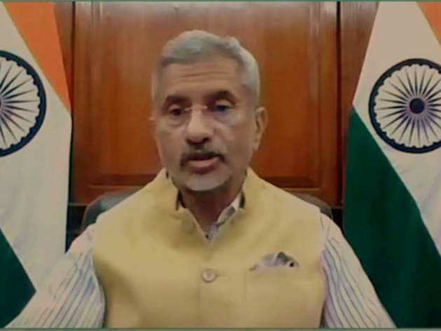 इंडिया ग्लोबल वीक 2020 में विदेश मंत्री एस जयशंकर।