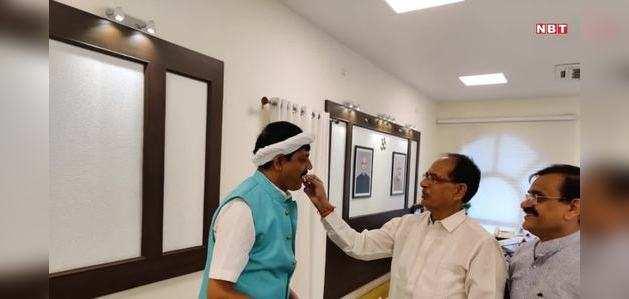MP में कांग्रेस को बड़ा झटका, मलहरा विधायक BJP में शामिल