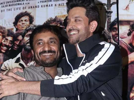 Anand Kumar And Hrithik Roshan