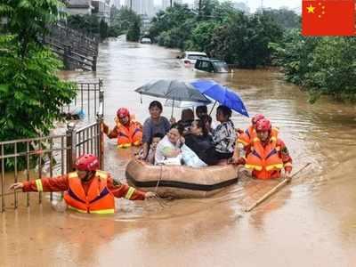 चीन में बाढ़ से लाखों लोग प्रभावित