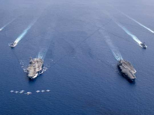 US Navy in South China Sea