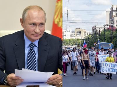 व्लादिमीर पुतिन के खिलाफ इस्तीफे की मांग तेज