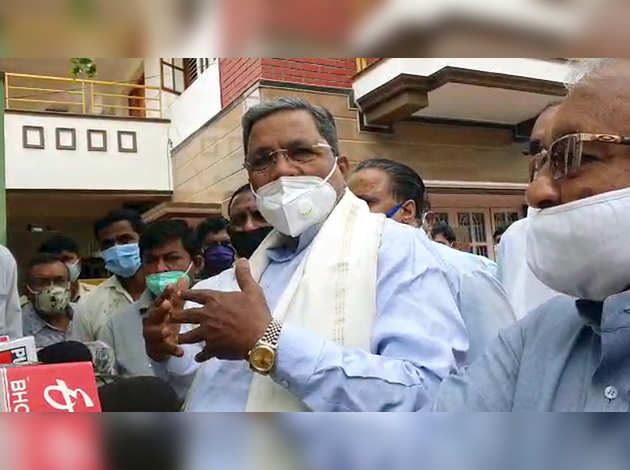 पश्चिम बंगाल में भाजपा नेता की मौत: सिद्धारमैया ने जताया शोक