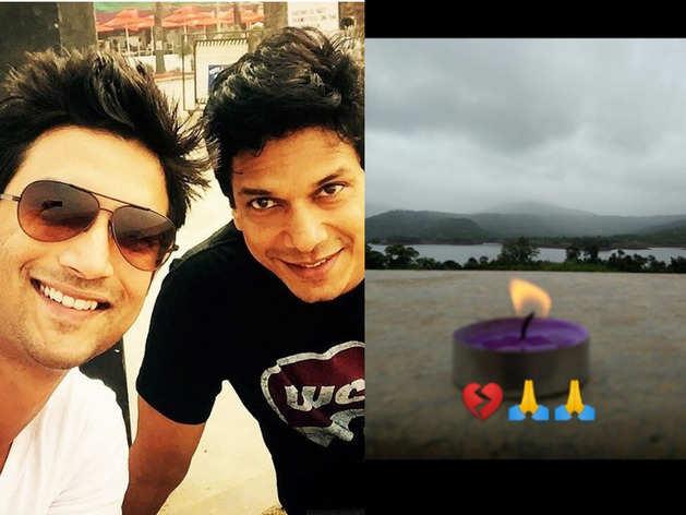 जिगरी दोस्त सुशांत की याद में महेश शेट्टी ने जलाया दीया, टूटे दिल के साथ दी श्रद्धांजलि