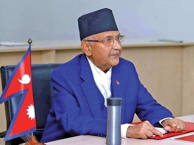 नेपाली पीएम केपी शर्मा ओली