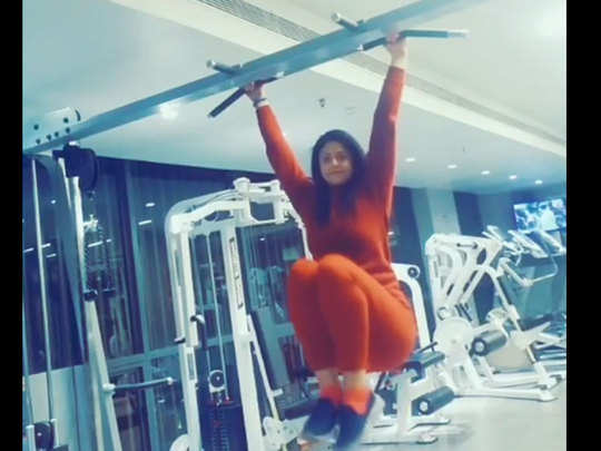 mohammed shami s wife hasin jahan shares new video doing exercise in gym