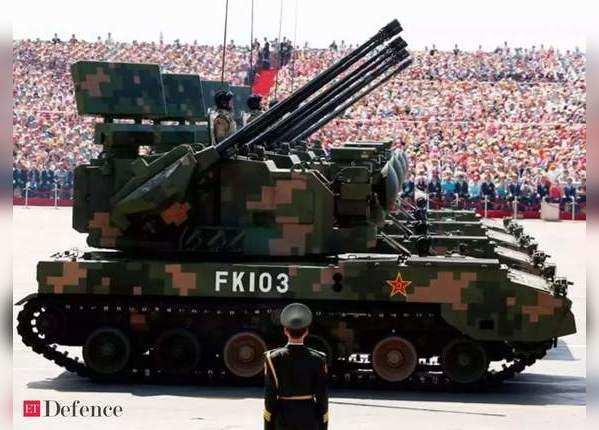 पूर्वी लद्दाख से सटे एरियाज में तैनात हैं चीन के T-15