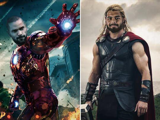 delhi capitals launched cricketers as marvel superheroes rishabh pant made thor and shikhar dhawan as iron man