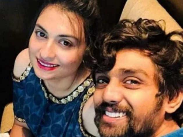 Dhruva Sarja And His Wife Prerana