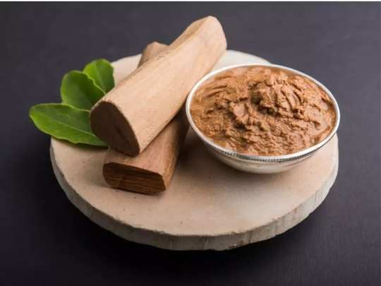 sandalwood powder benefits for glowing skin in marathi