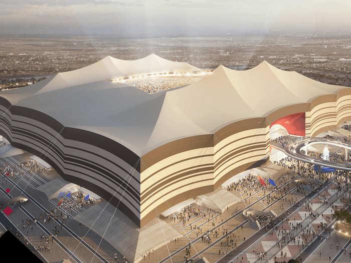 al bayt stadium qatar