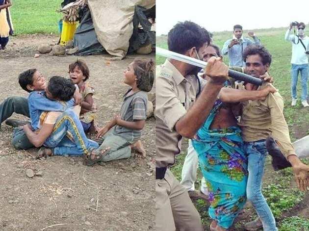 गुना दलित किसान पिटाई कांडः यह कैसा राज शिवराज! ये रोतीं तस्वीरें पूछ रही हैं कई सवाल