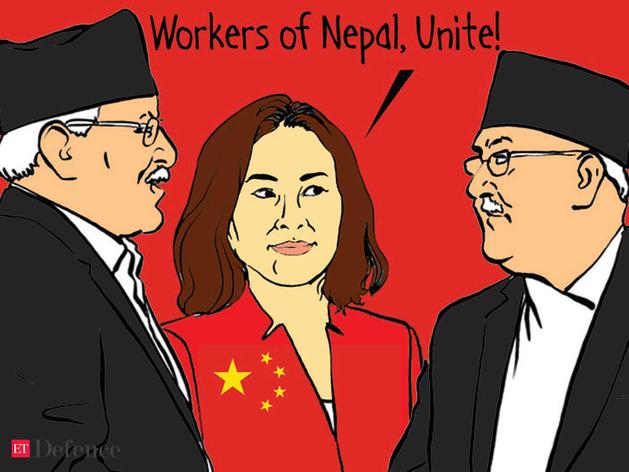 प्रचंड को मनाने फिर पहुंची नेपाल में चीन की राजदूत