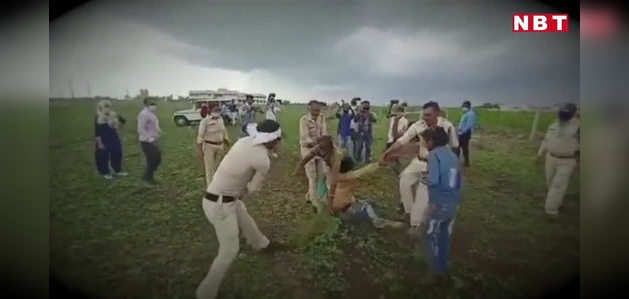 शिव 'राज' में दलित किसान को लाठी, JCB से रौंदा फसल, DM-SP पर कार्रवाई, सीएम खामोश