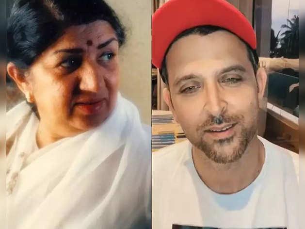 Hrithik Roshan replies to Lata Mangeshkar