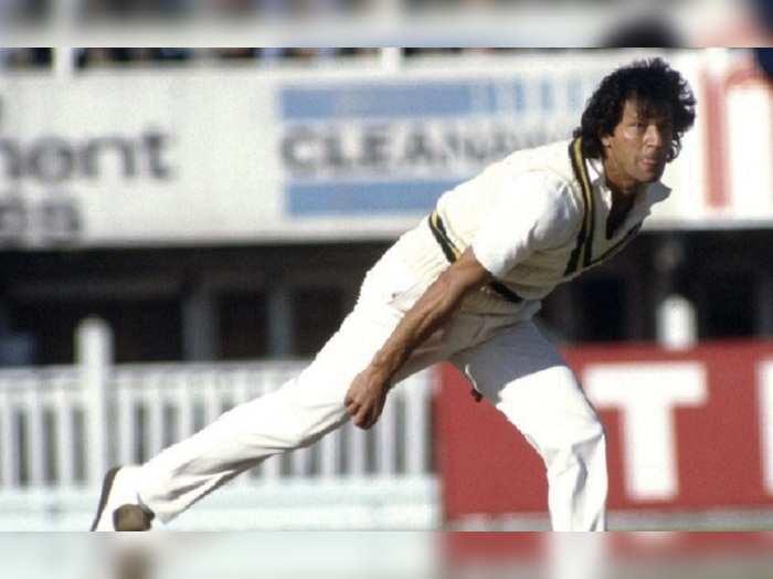 Imran Khan Pakistan Test Bowling
