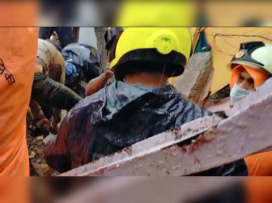 house collapse in malad