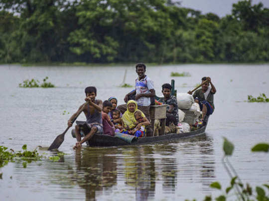 assam flood worst hit many human and animal lives lost