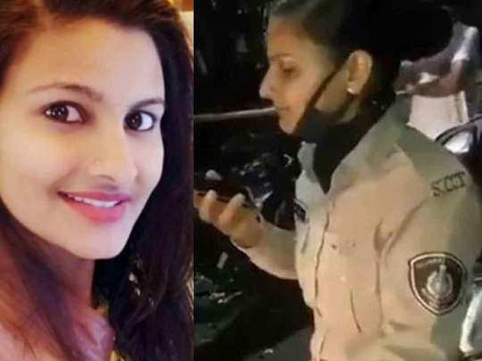 gujarat police woman sunita yadav faces enquiry after stopping neta sons in lockdown peoples angry over social media