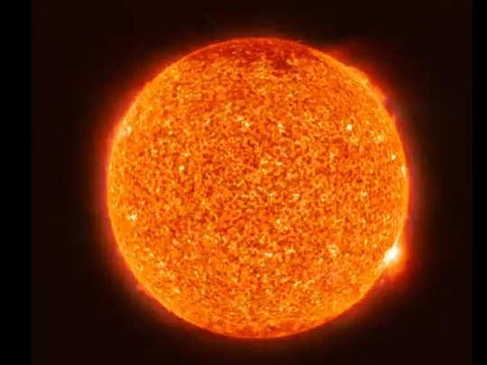 सूर्य जवळून असा दिसतो