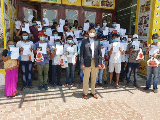 दुबईत अडकलेले मराठी बांधव मायदेशी परतले