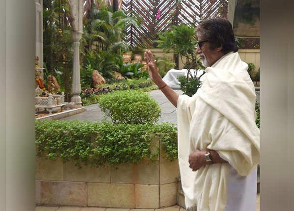 अमिताभ बच्चन के 'जलसा' के अंदर की झलक
