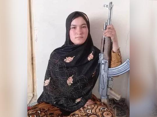afghan girl qamar gul shot dead taliban fighters who killed her parents