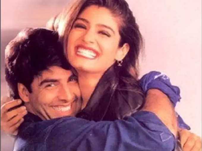 अक्षय कुमार और रवीना टंडन की हुई थी गुपचुप सगाई, ऐक्टर ने खुद बताई थी ये बात